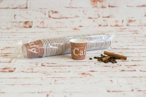 100 ml kávés papírpohár
