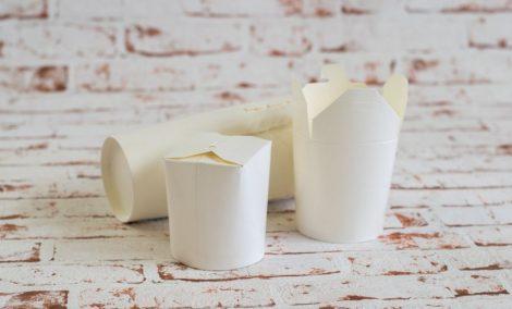 500 ml fehér tészta doboz