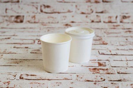 500 ml fehér leves box