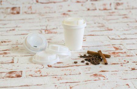 250 ml fehér műanyag tető